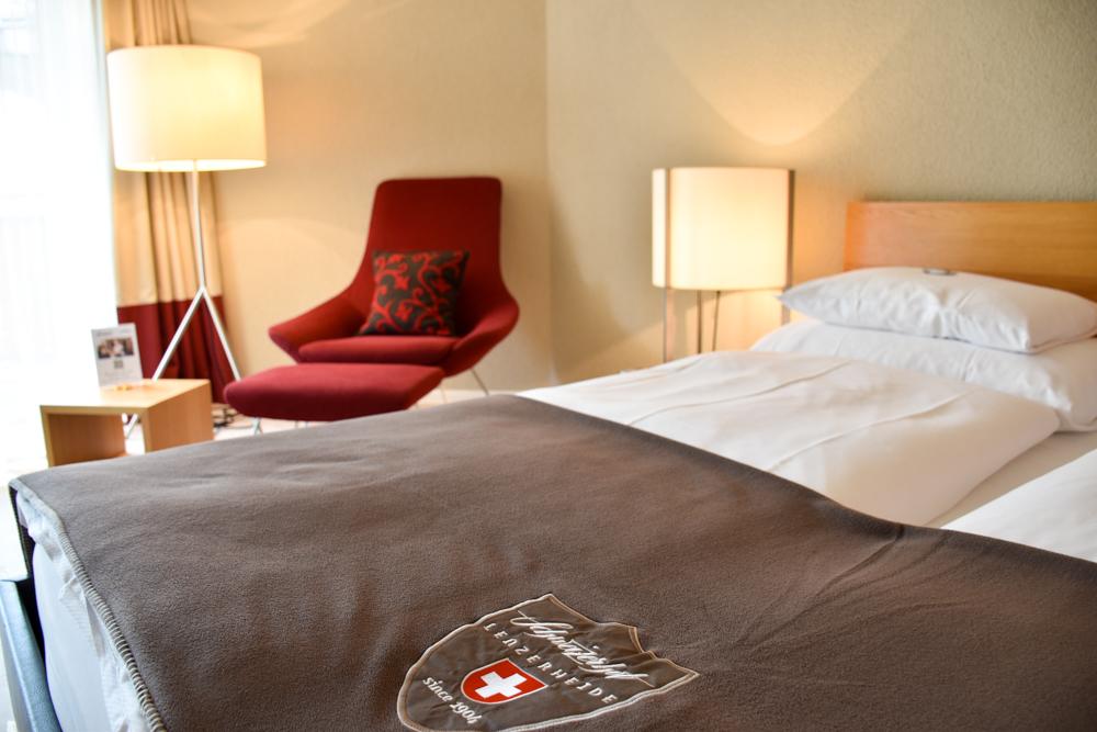 Familienwochenende in der Lenzerheide Sternennacht Familienzimmer Hotel Schweizerhof