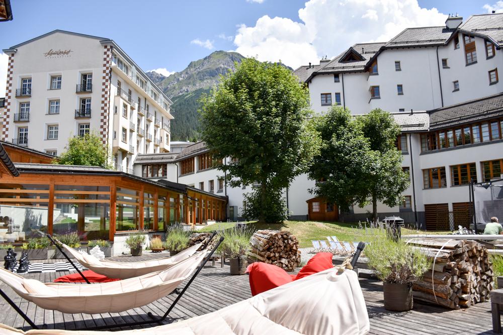 Familienwochenende in der Lenzerheide Sternennacht Hotel Schweizerhof