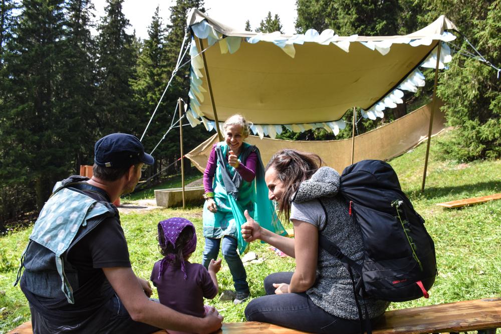 Familienwochenende in der Lenzerheide Sternennacht-Klapperlapapp Märchenfestival