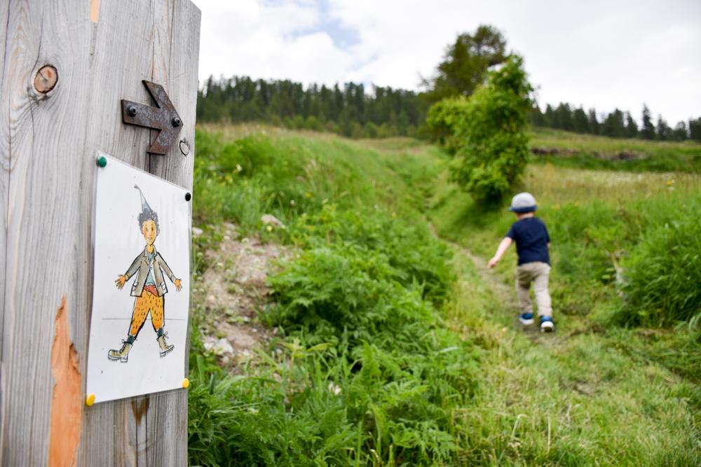 Guarda und der Schellen-Ursli-Weg die erste Etappe