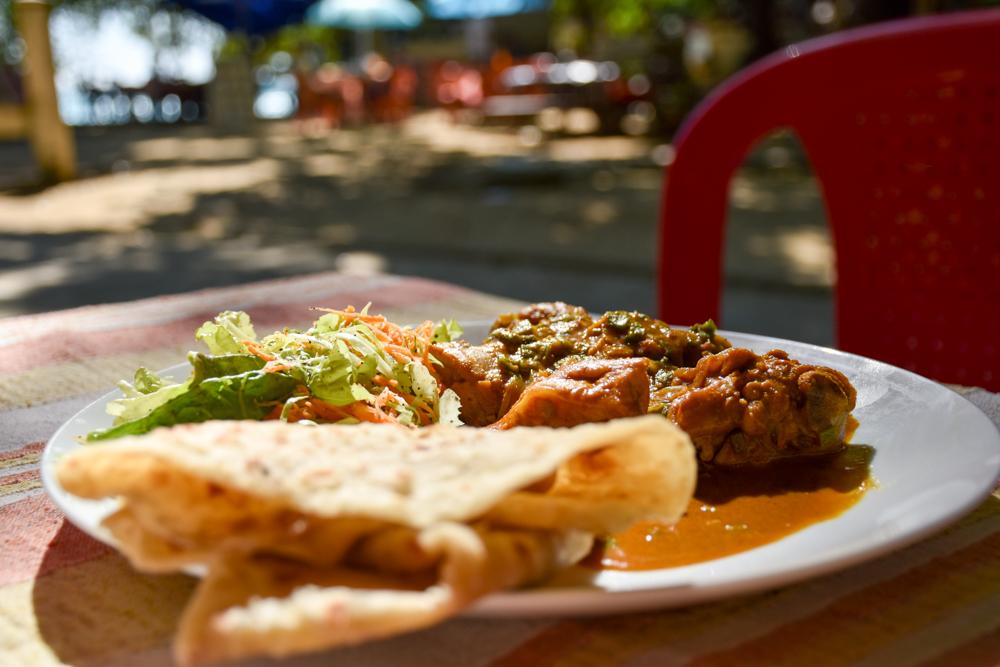 Restauranttipps Mauritius Buden beim La Cuvette Beach