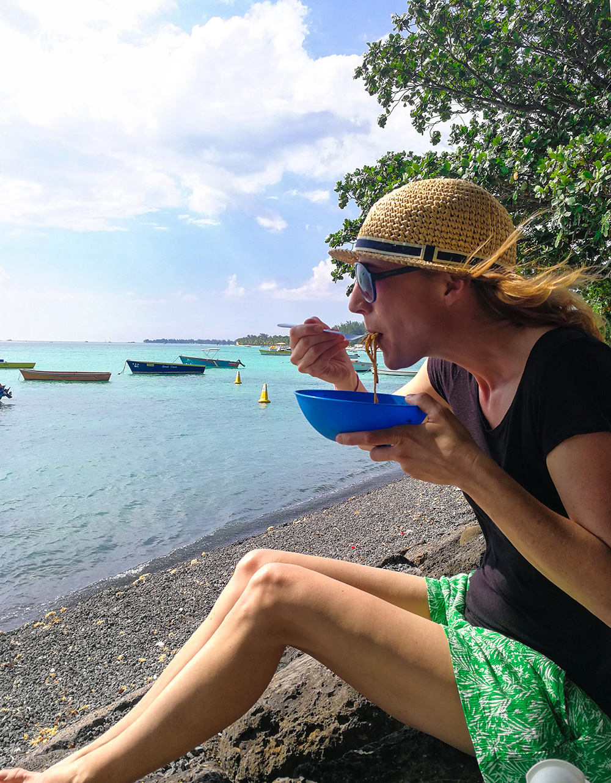Restauranttipps Mauritius Travel Sisi bei Pierre Noodles in Trou aux Biches