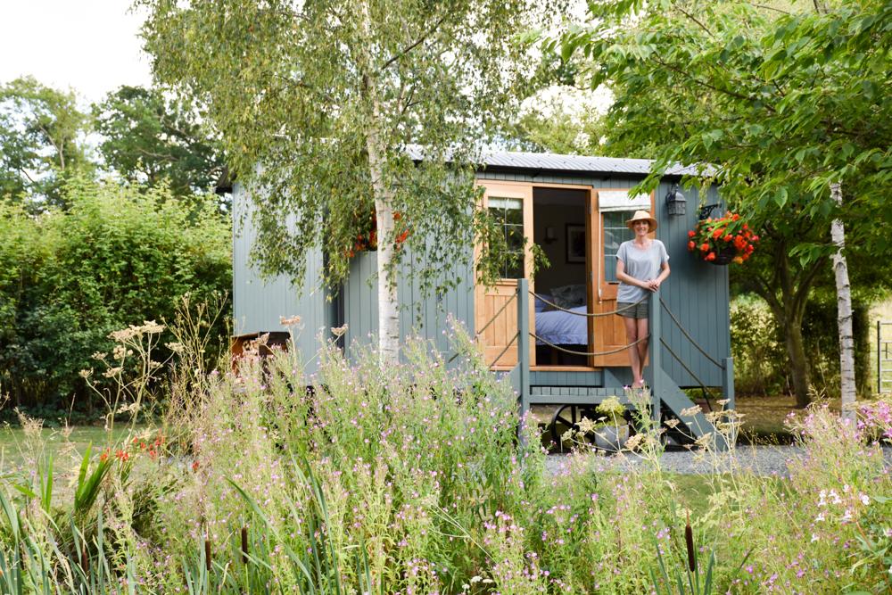 Glamping Tipps Wales Art der Glamping-Unterkunft Shepherds Hut