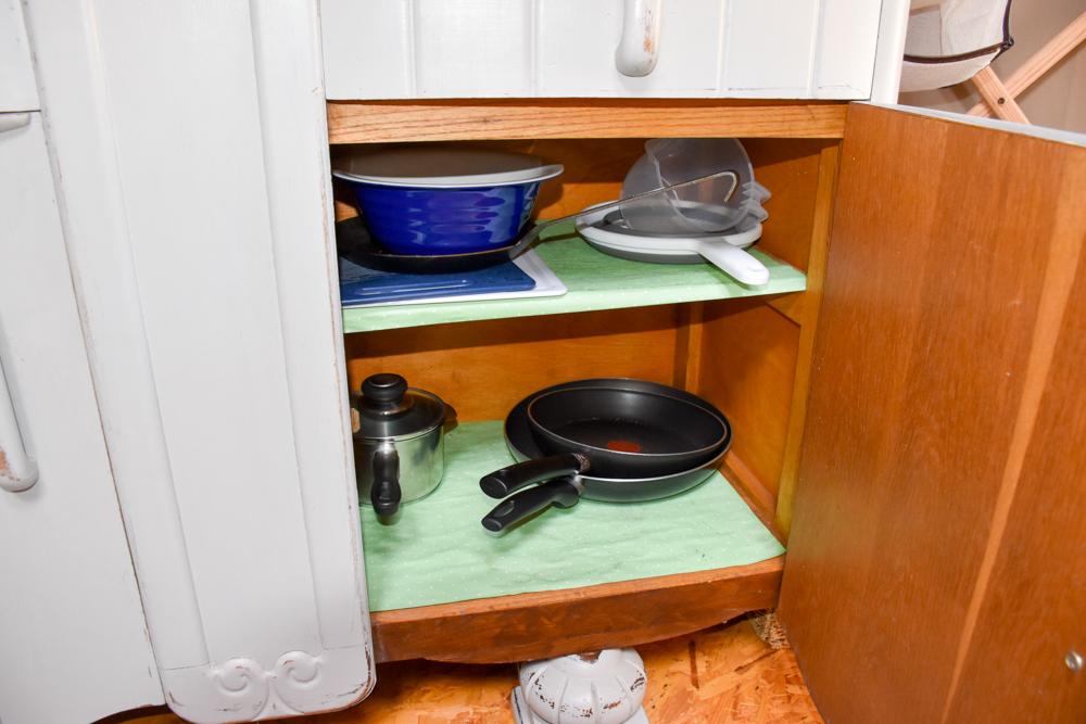 Glamping Wales Tipps Küchenausstattung