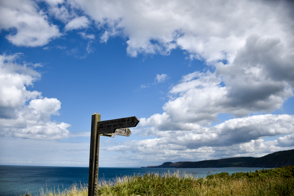 Wales Highlights Coast Path in Ceredigion