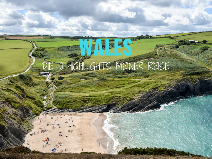Wales Highlights Strand von Mwnt Cardigan Bay