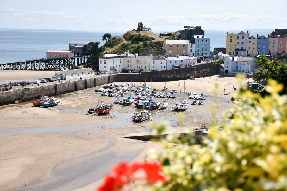 Wales Highlights Tenby und der Hafen