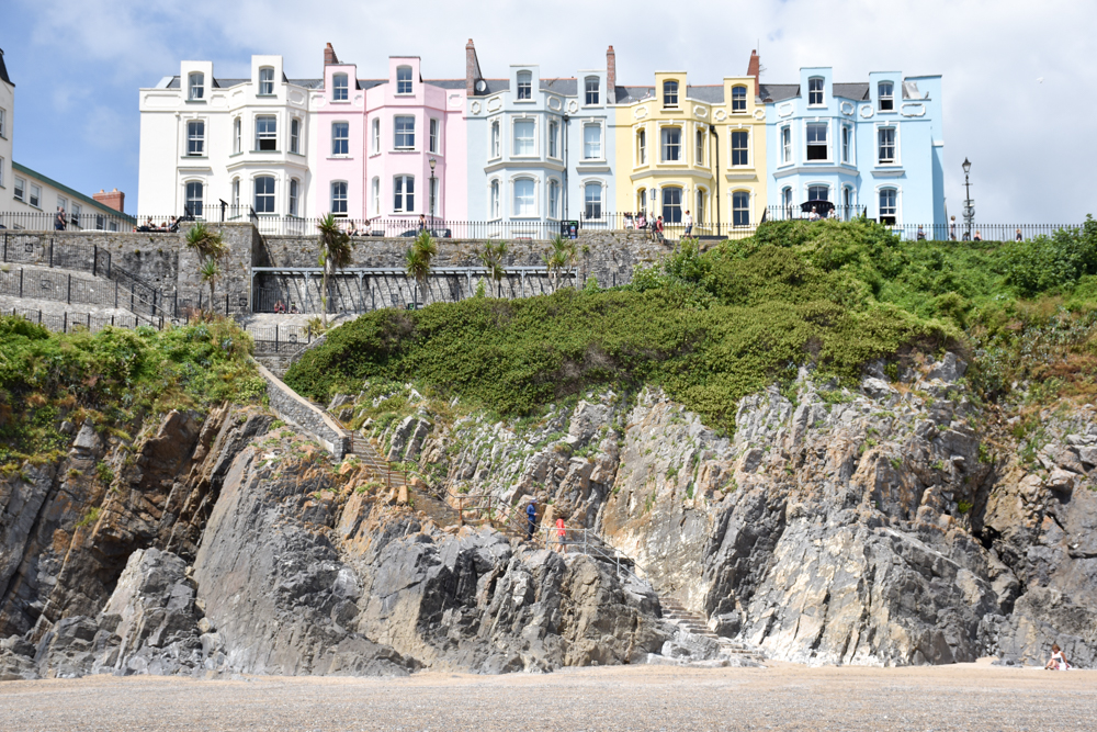 Wales Highlights tolle Architektur in Tenby