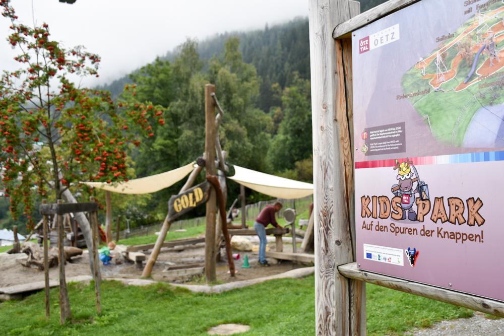 Ötztal mit Kind Kids Park Oetz