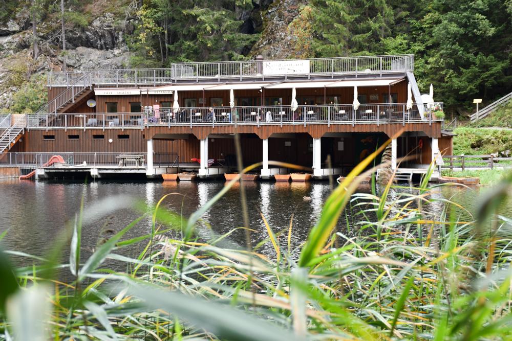 Ötztal mit Kind Restaurant am Piburger See
