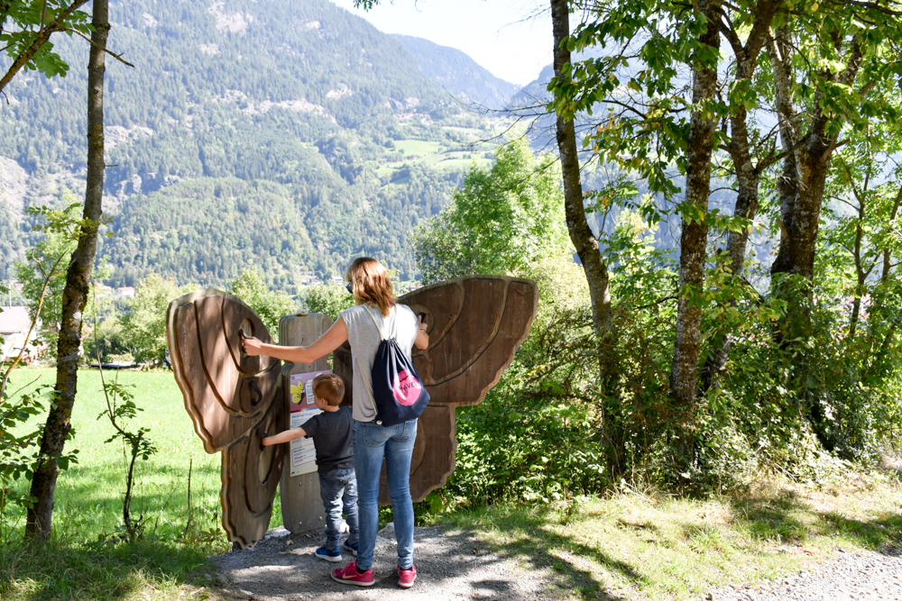 Ötztal mit Kind Schmetterlingsstation Zauberwald Sautens