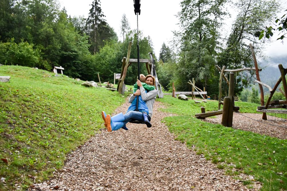 Ötztal mit Kind Spass im Kids Park in Oetz