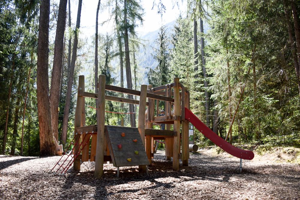 Ötztal mit Kind Spielplatz Zauberwald Sautens
