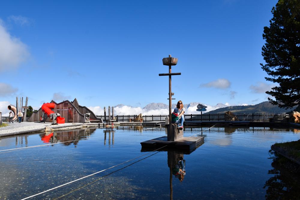 Ötztal mit Kind Tretboot Widiversum
