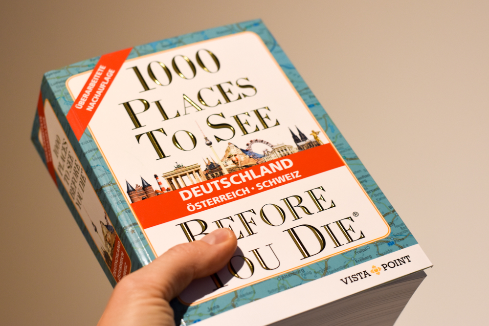 1000 Places to stay before you die das Buch