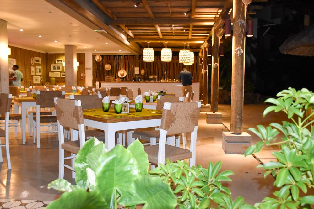 Hoteltipp Mauritius Hotel Zilwa Attitude Restaurant Kot Nou am Abend