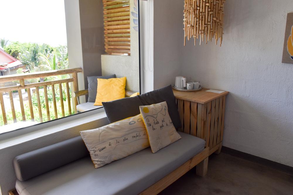 Hoteltipp Mauritius Hotel Zilwa Attitude Schlafsofa im Superior Zimmer