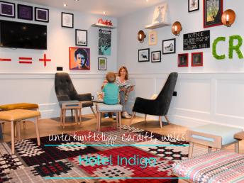Unterkunftstipp Hotel Indigo Cardiff, Wales