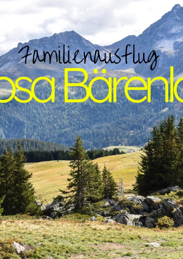 Familienausflug Arosa Bärenland: Zu Besuch bei Napa