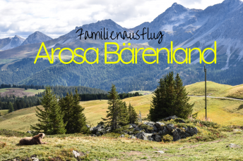 Familienausflug Arosa Bärenland