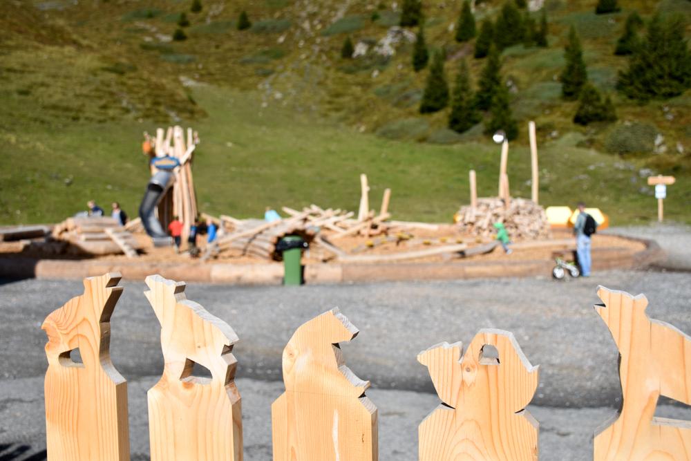 Familienausflug Arosa Bärenland Spielplatz