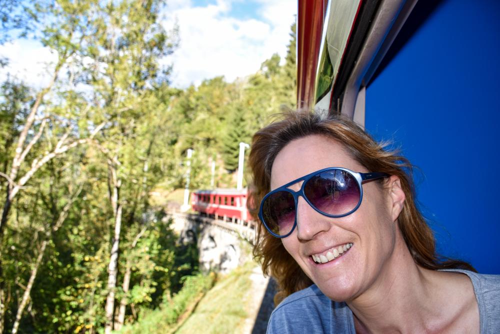 Familienausflug Arosa Bärenland Travel Sisi Rhätische Bahn