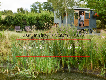 Glampingtipp Welshpool Wales Lake Farm Shepherds Hut
