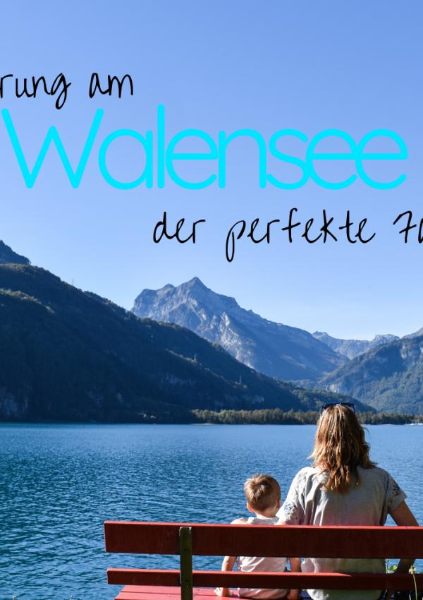 Familienwanderung Walensee: Von Betlis nach Weesen