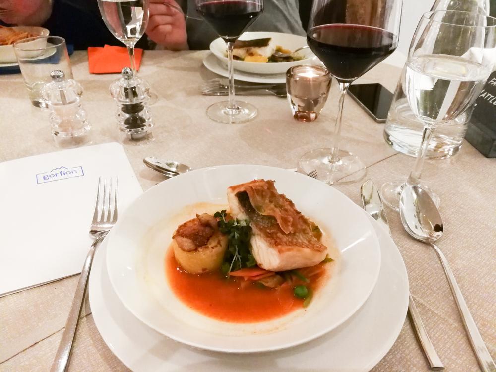 Hoteltipp Malbun Liechtenstein Gorfion das Familienhotel Abendmenü