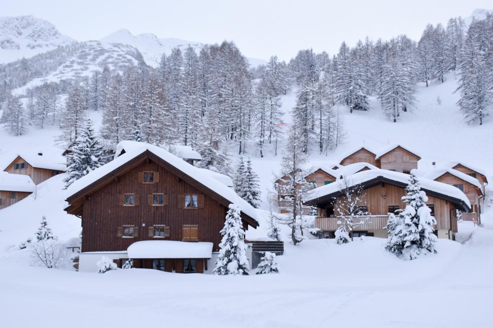 Hoteltipp Malbun Liechtenstein Gorfion das Familienhotel Aussicht vom Zimmer