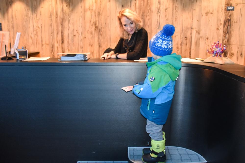 Hoteltipp Malbun Liechtenstein Gorfion das Familienhotel Check-in für Kinder