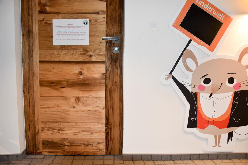 Hoteltipp Malbun Liechtenstein Gorfion das Familienhotel Eingang in die Kinderwelt