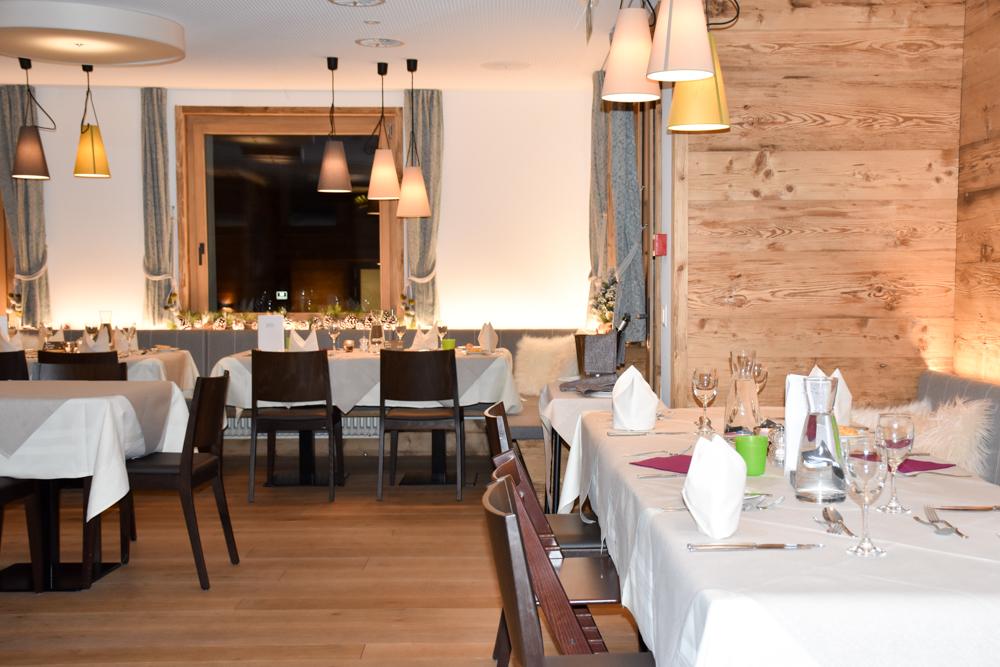 Hoteltipp Malbun Liechtenstein Gorfion das Familienhotel Restaurant