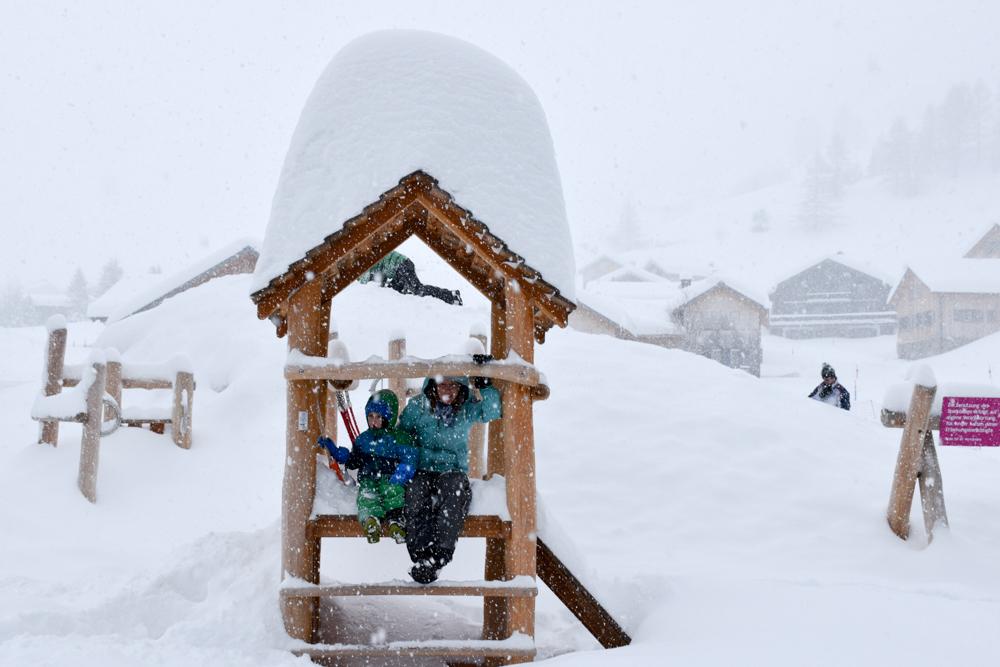 Hoteltipp Malbun Liechtenstein Gorfion das Familienhotel wir lassen uns einschneien