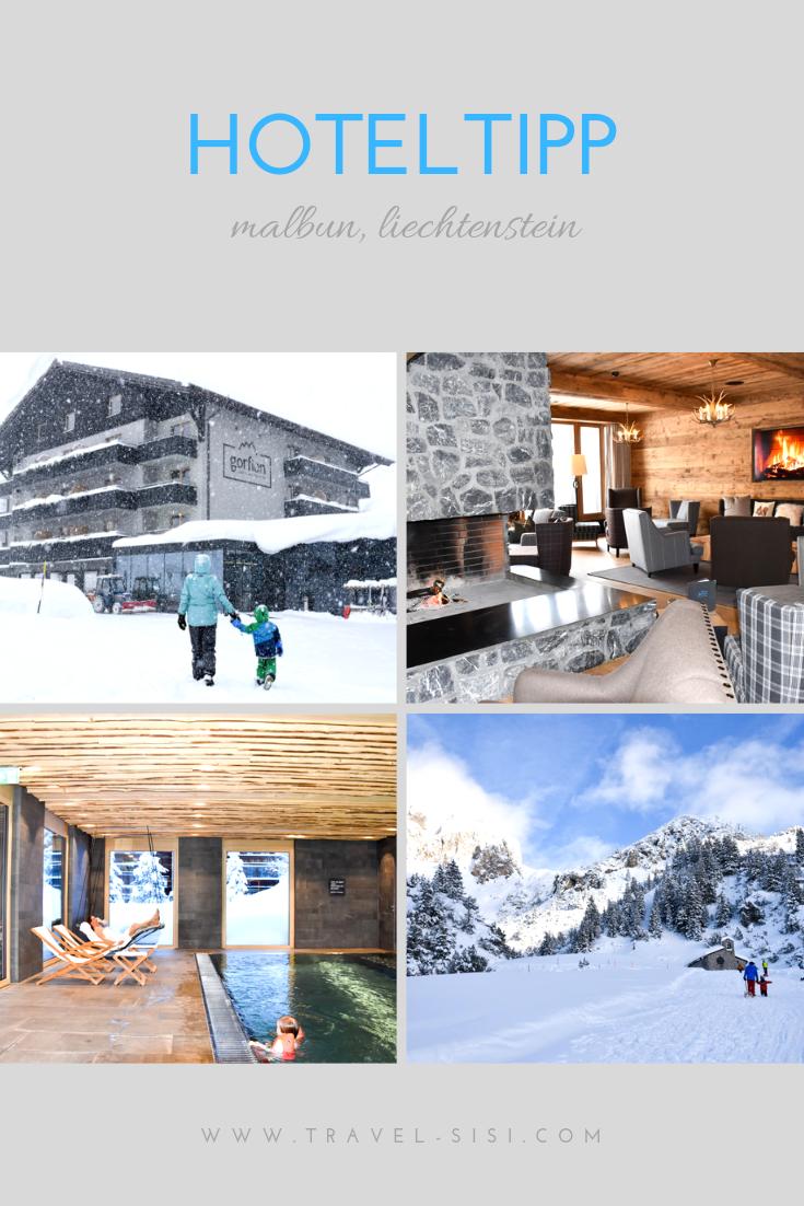 Hoteltipp in Malbun Liechtenstein Gorfion das Familienhotel