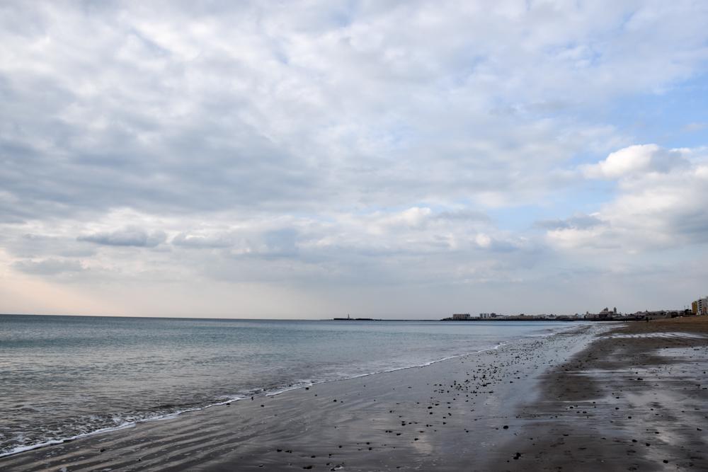Reisetipps Cadiz Andalusien Spanien der wunderschöne Playa de la Victoria