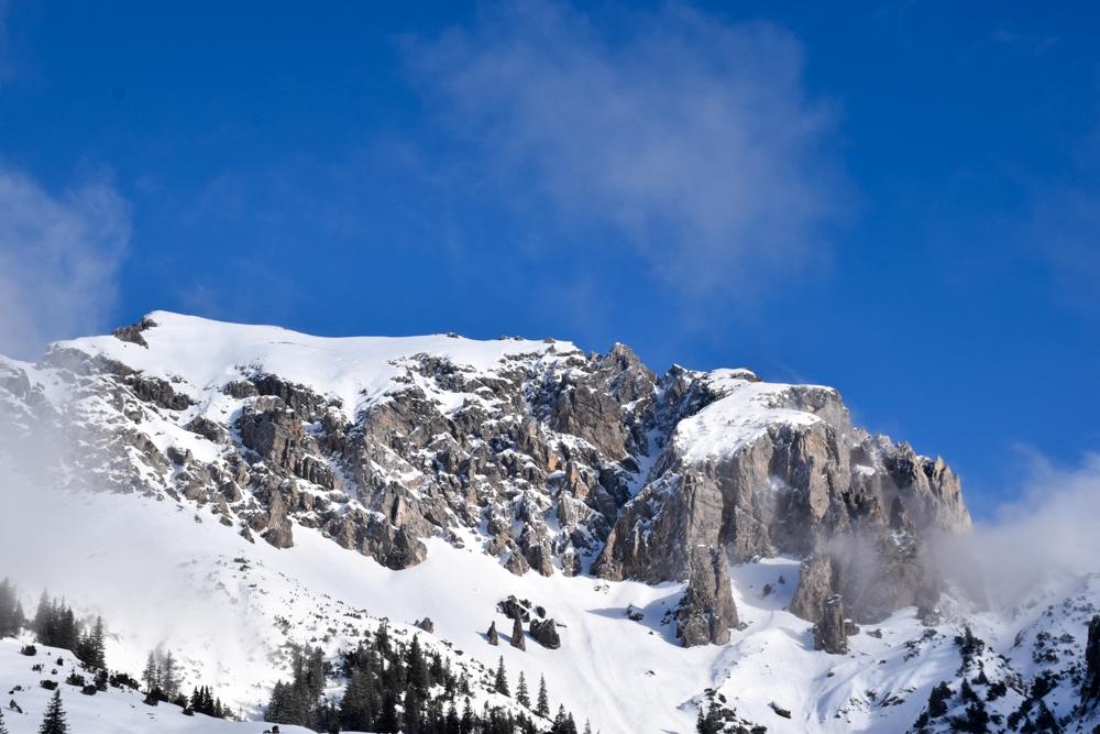 Winterurlaub Malbun Liechtenstein herrliche Bergkulisse
