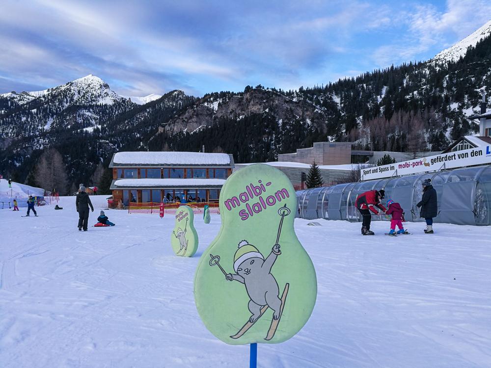 Winterurlaub Malbun Liechtenstein malbi-Park