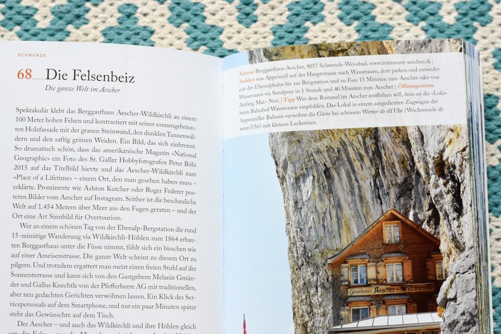 111 Orte rund um den Säntis Buch Äscher