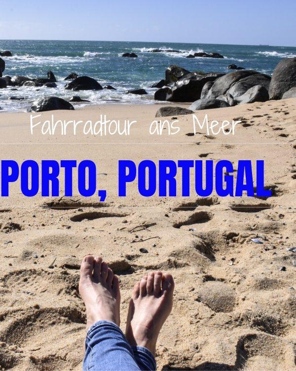 Porto Portugal Fahrradtour ans Meer