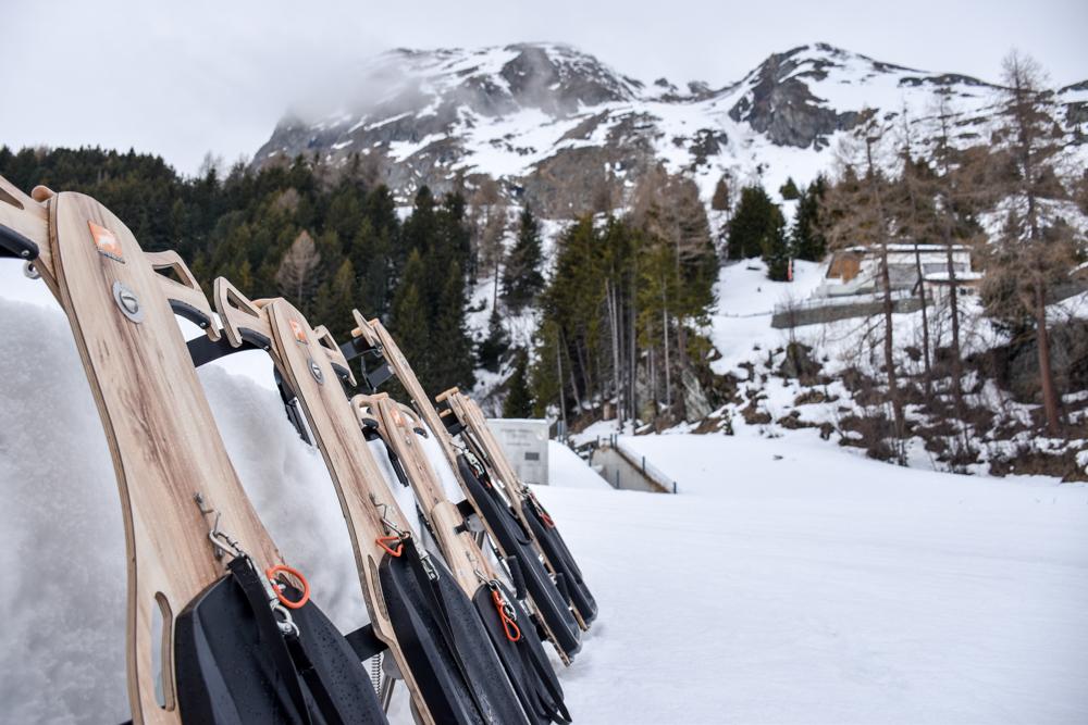 Winterferien Savognin Bivio Albula mit der Familie Pistenbock in Bivio