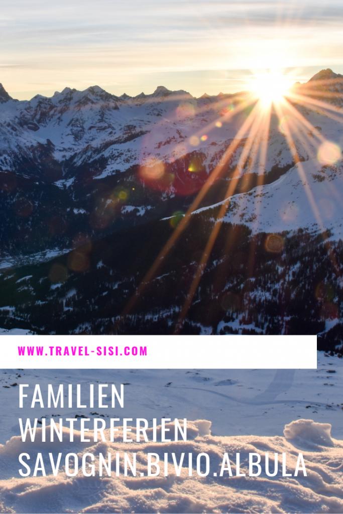 Winterferien mit der Familie in Savognin Bivio Albula