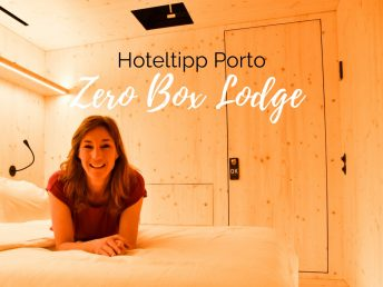 Hoteltipp Porto Zero Box Lodge