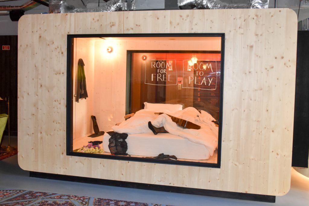Hoteltipp Porto Zero Box Lodge kostenlose Box