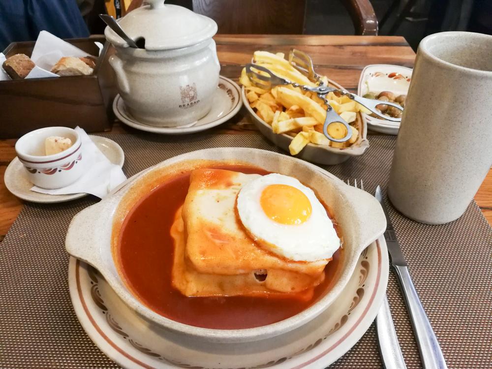 Porto Reisetipps Sehenswürdigkeiten Restaurants Francesinha