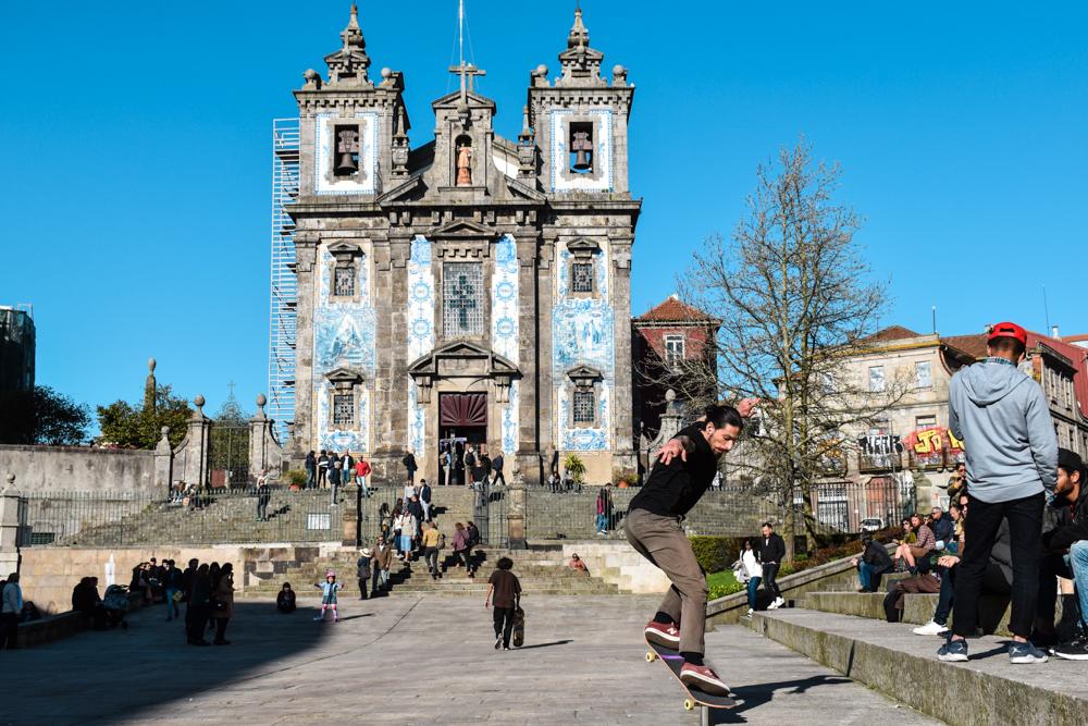Porto Reisetipps Sehenswürdigkeiten Restaurants Igreja Sto. Ildefonso
