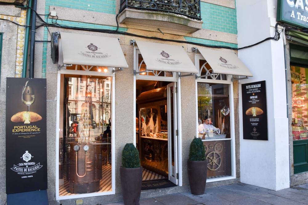Porto Reisetipps Sehenswürdigkeiten Restaurants Pastel do Bacalhau