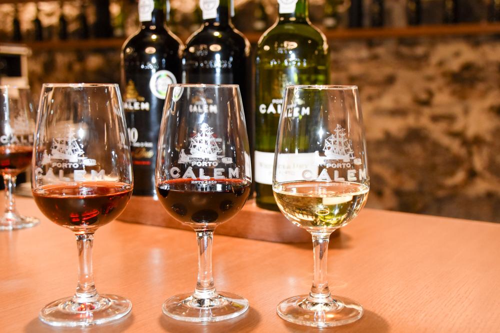 Porto Reisetipps Sehenswürdigkeiten Restaurants Portweindegustation in der Weinkellerei Calem