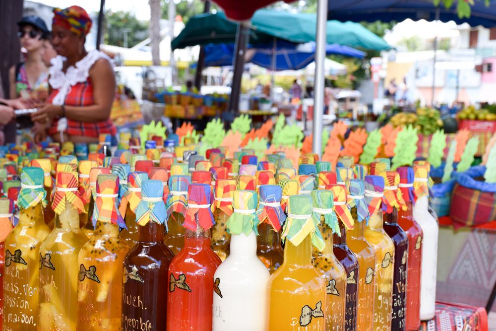 Guadeloupe Sehenswürdigkeiten Highlights Reisetipps Marché de la Rotonde Saint-Francois