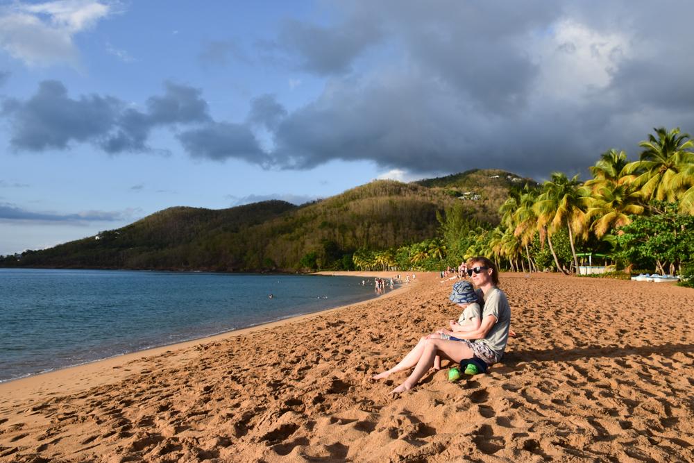 Guadeloupe Sehenswürdigkeiten Highlights Reisetipps Plage Grande Anse